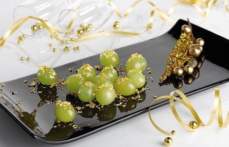 Presentar las uvas en Nochevieja